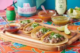 Tacos con suadero (4 uds.)