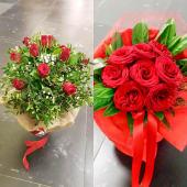 Buket s 9 crvenih ruža
