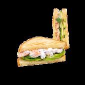 Salmon sándwich
