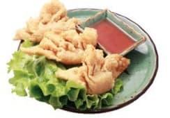15-Raviolis frits aux crevettes par 3