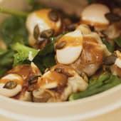 Dumpling de pato Pekín (ración)
