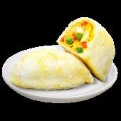 Empanada de morocho con pollo
