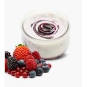 Yogur kalekoi con Mermelada de Frutos Rojos (125 g.)