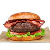 Bacon burger de ternera
