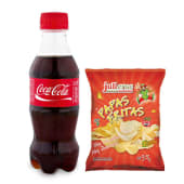 Combo Papas + Gaseosa (500 ml.)