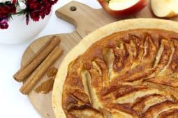 tarta cu mere si creme