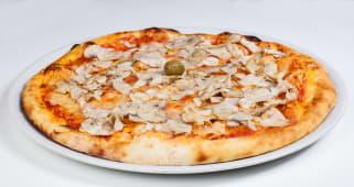 Pizza Funghi + piće