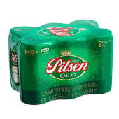 Cerveza Pilsen Sixpack Lata 355 Ml