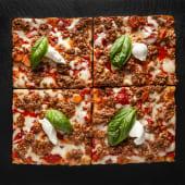 Pizza Bolognese (4 pzs.)