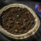 Pizza Nutella M&M