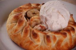Банановий пиріг з морозивом (255г)