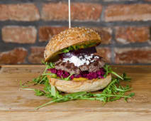 Burger Burok w siodle
