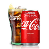 Coca-Cola Sabor Original En Lata  (330 Ml.)