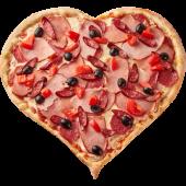 Піца-Серце від Шефа (970г)