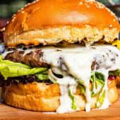 Burger Supreme Jamón & Hot