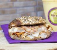 Bagel chicken BBQ