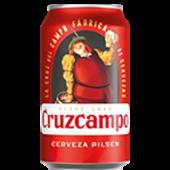 Cerveza Cruzcampo (330 ml.)