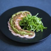Карпачо з лосося (130/50г)