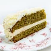 Pastel de té verde
