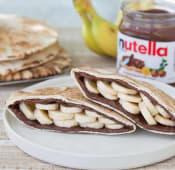 Nutella & banana pita - 2 bucati