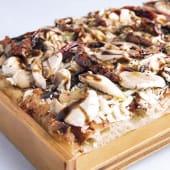 Pizza champiñones mediana