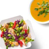 Zestaw Box Kurczak Chilli z zupą