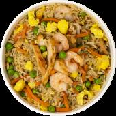 Wok rice