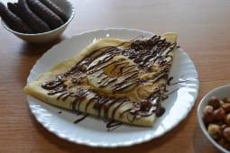 12. Palačinka Nutela, Ananas, Sladoled