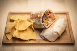 Burrito de pastor con piña