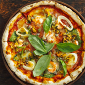 Pizza turín de masa madre