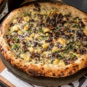 Pizza La Reina de las setas