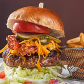 BBQ Bacon & Cheddar Burger
