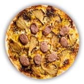 Pizza Botifarra amb Gírgoles (petita)