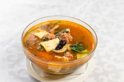Суп с фрикадельками и тофу Шаньдун