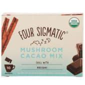 Какао з грибами Рейші на рослинному молоці