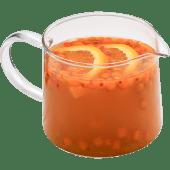 Чай апельсиновый с облепихой