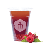 Bubble tea  Red  Berry