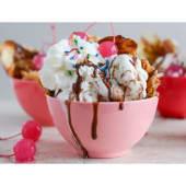 Combo helado (1 kg.) + popcorn ( 240 g.) (25% de descuento)