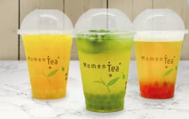 Bubble tea fruité