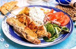 Piatto Souvlaki maiale o pollo