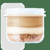 Десерт Ночоліне з лісовими горіхами та кавово-карамельним кремом
