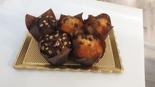 Muffin ai 3 cioccolati