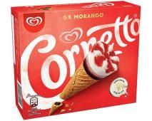 Cornetto Morango 90ml (6 un)