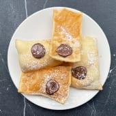 Gnocco Fritto con Nutella
