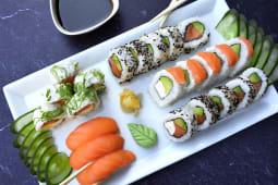 Full salmón 30 piezas