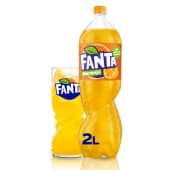 Fanta Naranja botella 2L.