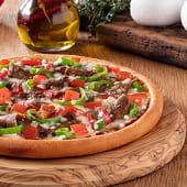 Yaprak Dönerli Pizza (Büyük)