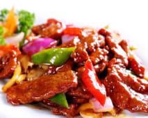 Смажена яловичина в устричному соусі (320г)