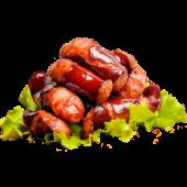 Ковбаски мисливські з хроном та гірчицею (150/30/30г)