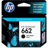 Cartucho De Tinta 662 Hp Negro Rendimiento Estándar